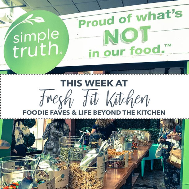 This Week at Fresh Fit Kitchen Everything Food Conference