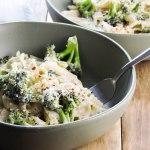 Roasted Broccoli Parmesan Pasta