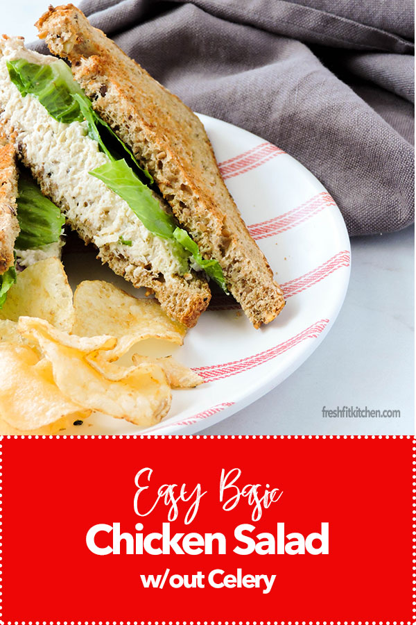 Easy Basic Chicken Salad without Celery