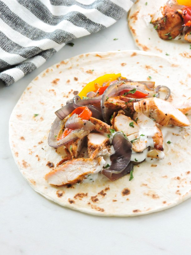Quick and Easy Grilled Chicken Fajitas