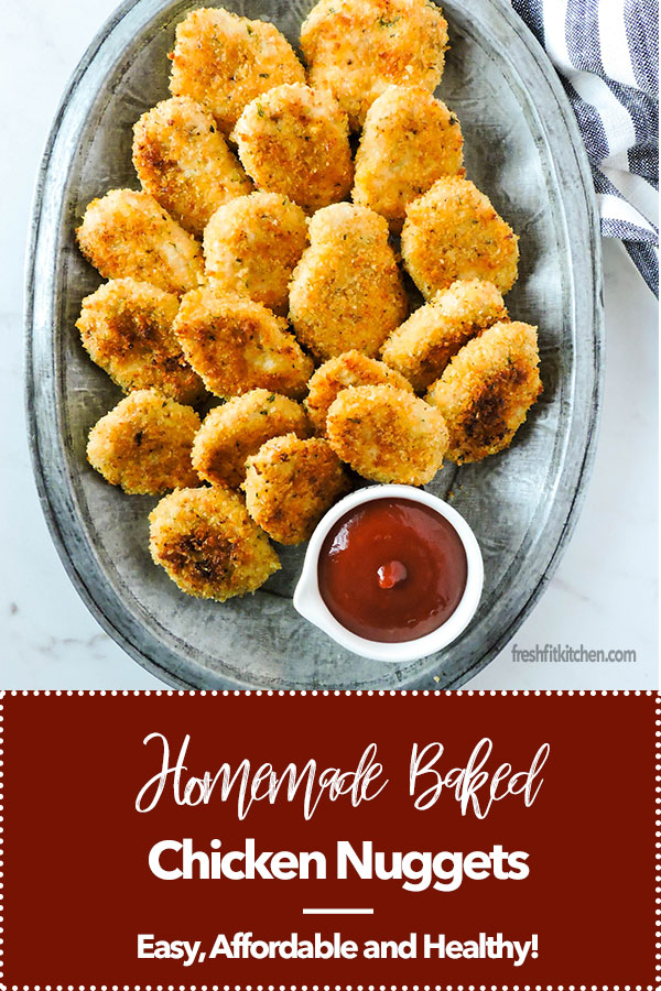 Homemade Baked Chicken Nuggets