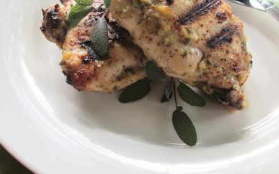 Garlic-Sage Grilled Chicken