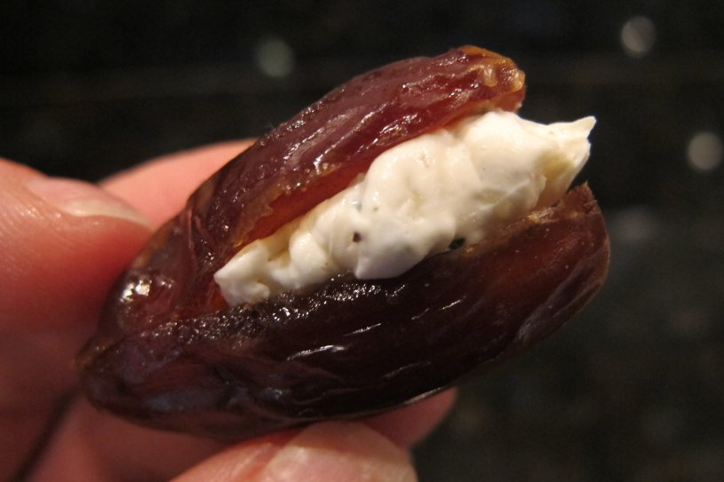 Make Cheese-Stuffed Bacon-Wrapped Dates for your next festive get-together. These bites of big flavor are a healthy alternative to bacon-wrapped smokies.
