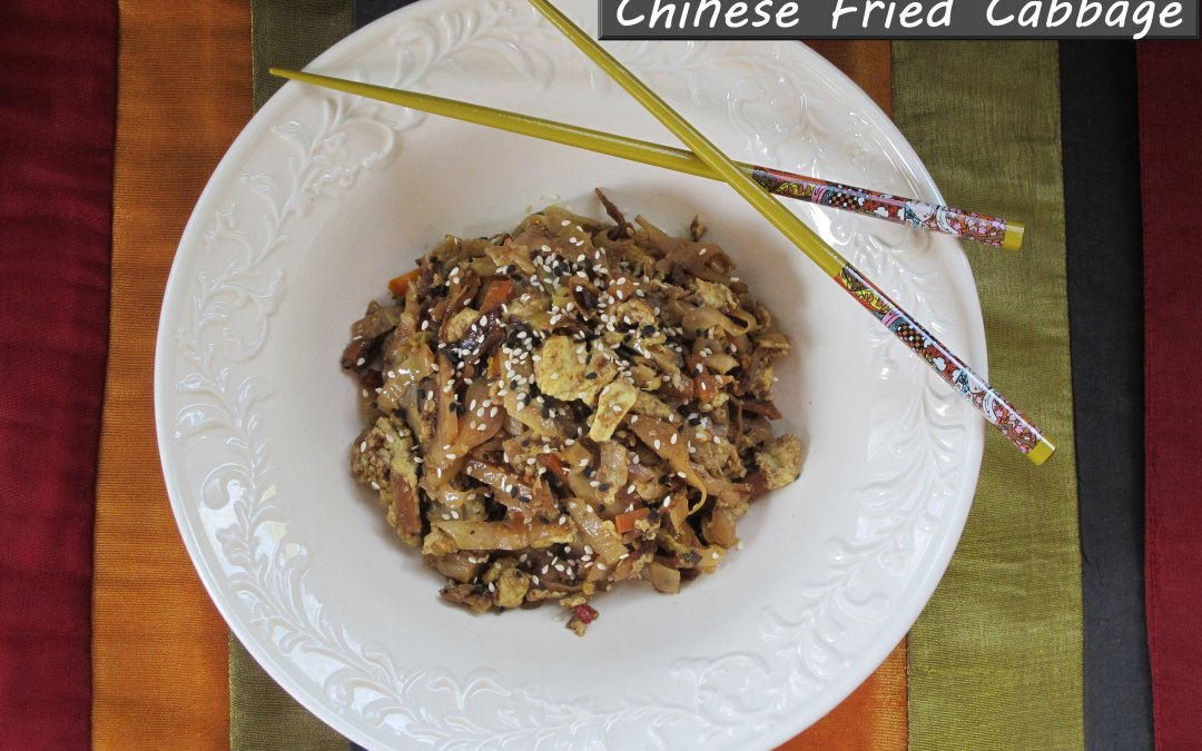 Chinese Fried Cabbage