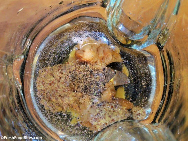 Roasted garlic, parmesan and fresh thyme combine in a Roasted Garlic Parmesan Dressing that will rival any