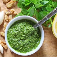 Lemon-Pepper Parsley Pesto