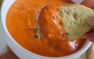 Creamy Roasted Pepper Tomato Sauce