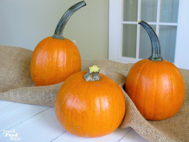 1. Pie Pumpkins