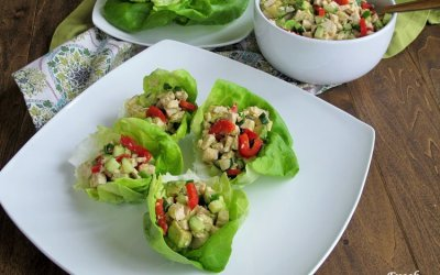 No Mayo Avocado Chicken Salad