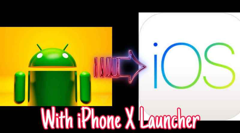 convert android to ios launcher