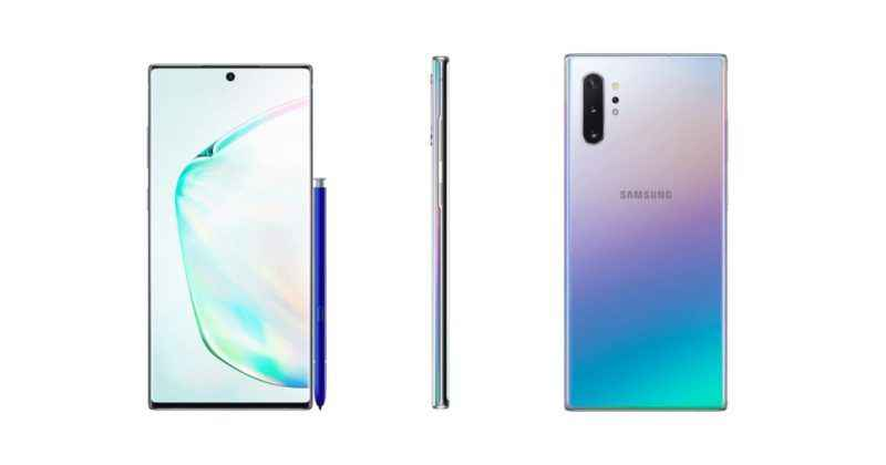 Samsung galaxy note 10 leak