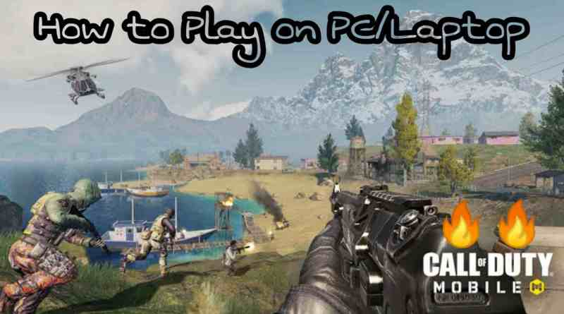 how to download call of duty mobile on pc or laptop to play for free with the help of gameloop by tencent, play cod mobile on gamebuddy