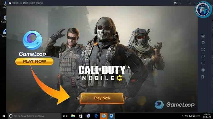 download cod mobile on pc using tencent gamebuddy/gameloop
