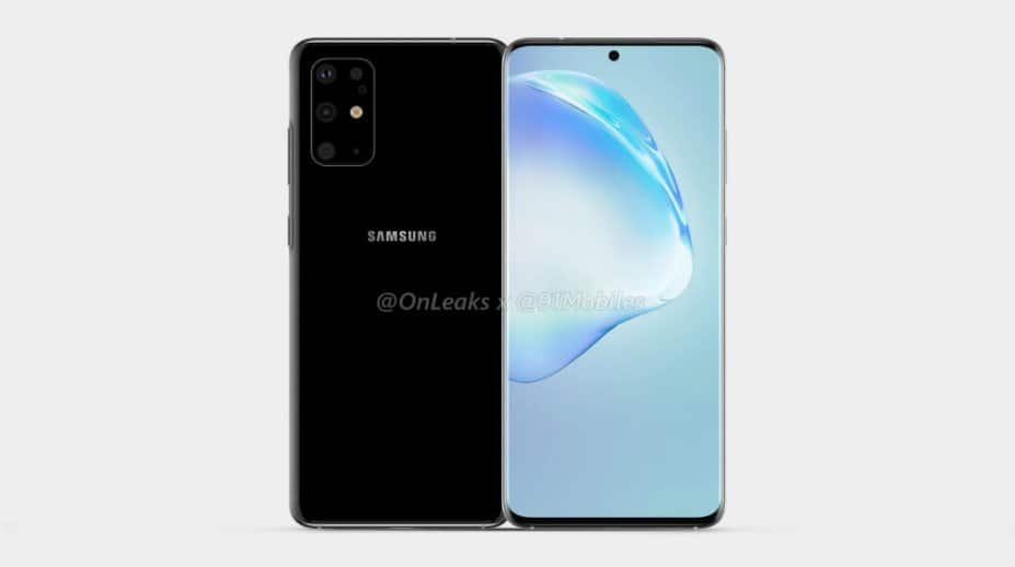 s11 leaked images with punch hole camera and back design