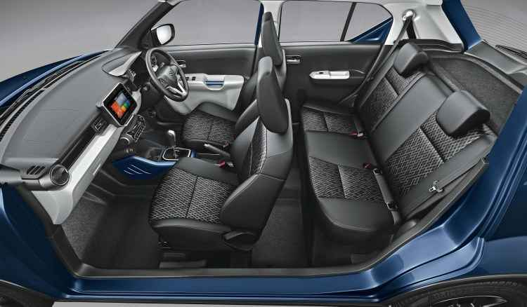 maruti suzuki ignis interior look at auto expo 2020