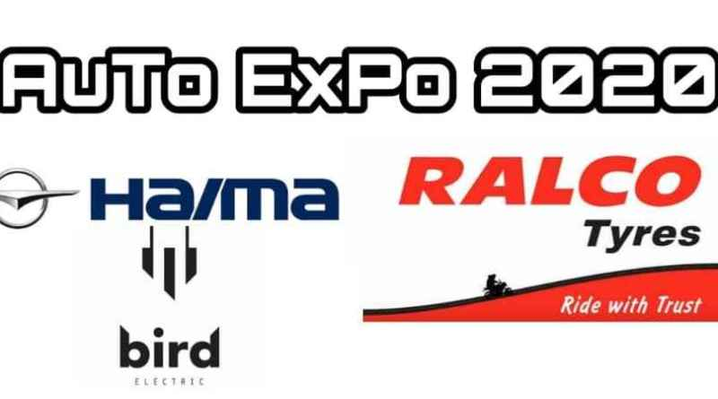 haima bird electric and ralco ralson showcased at auto expo 2020 ev1 & eco friendly tyres