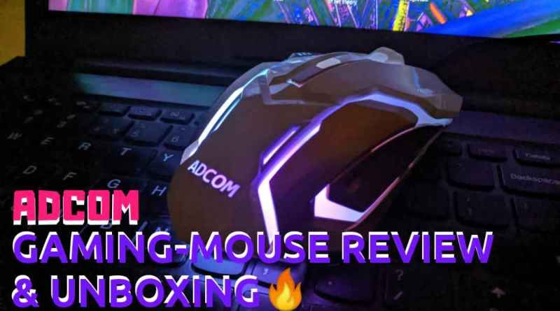 adcom mouse review with price, built, features and opinion in detail