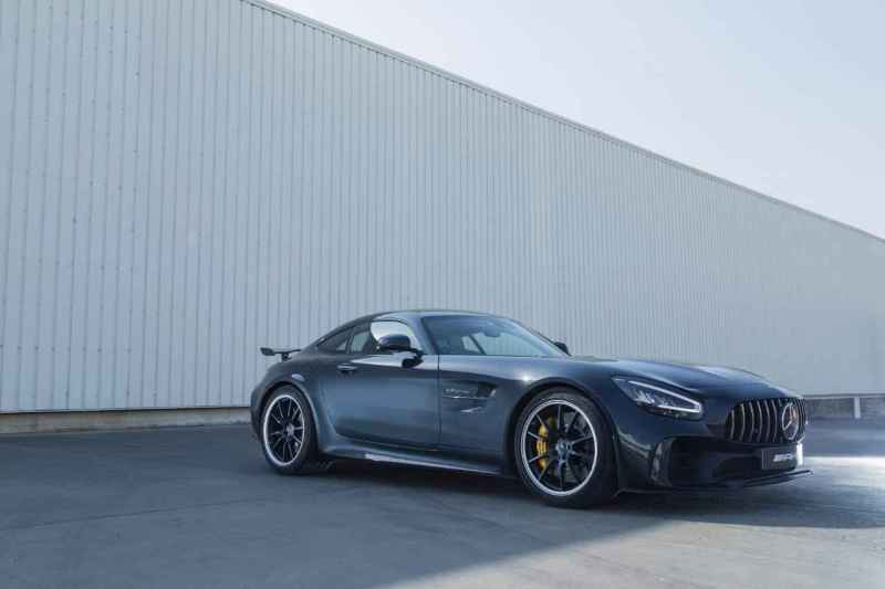 Mercedesbenz AMG GTR Coupe Launch in India