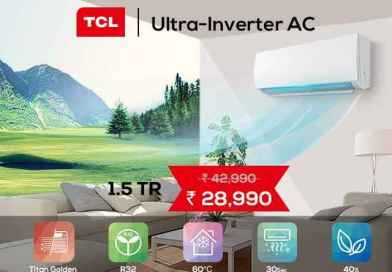 TCL 1.5 TR Ultra-Inverter Smart AC Now available at Pai International
