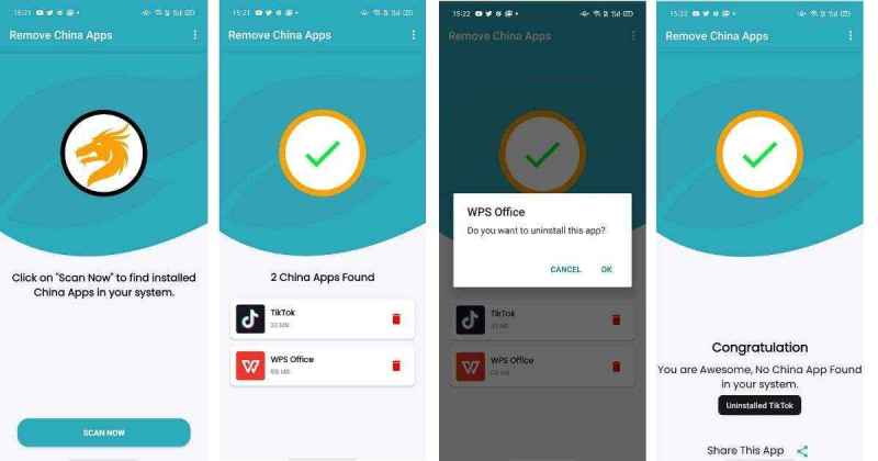 how to use remove china apps by onetouch applabs