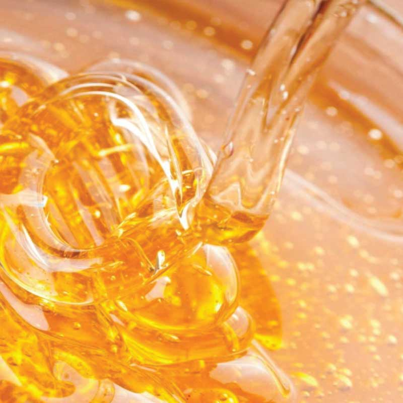 runny raw honey