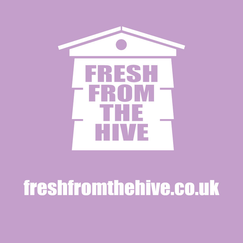 lavender fresh from the hive logo