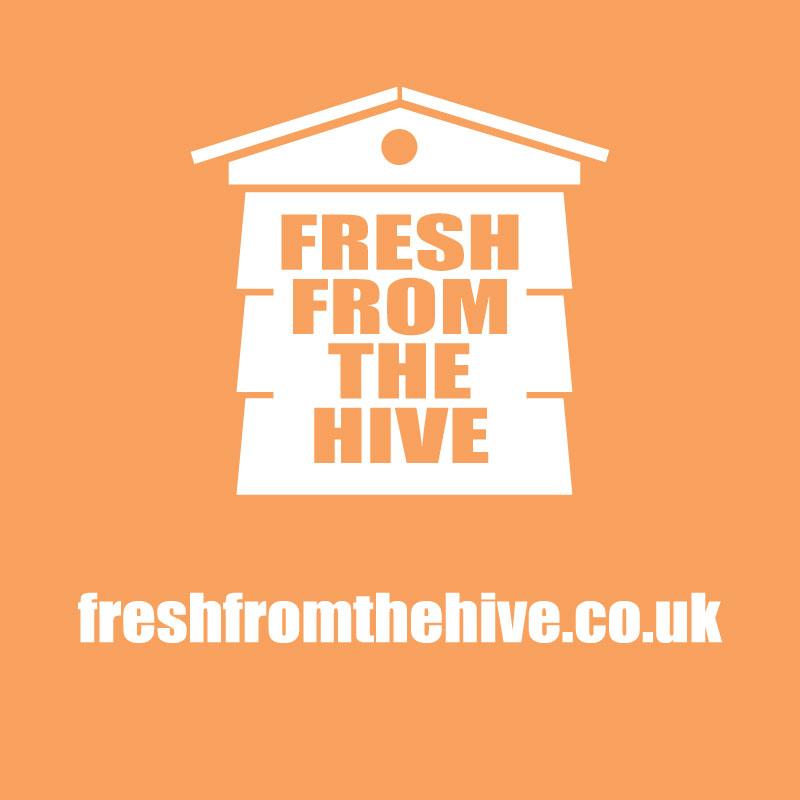 orange fresh from the hive logo