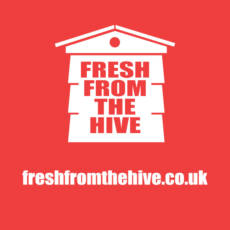 red fresh from the hive logo