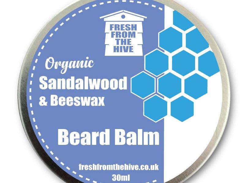 organic Sandalwood Beard Balm