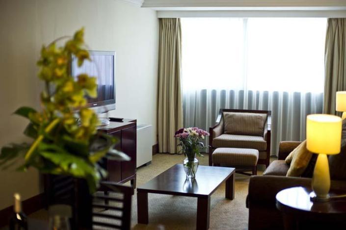 Small hotel room interiors