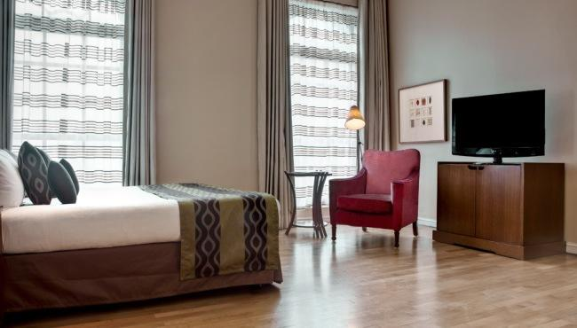 Stylish hotel interiors