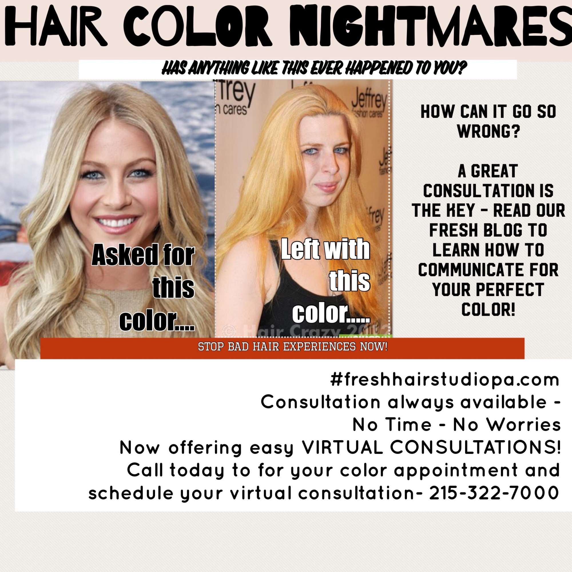 Consultation Tips Fresh Hair Studio