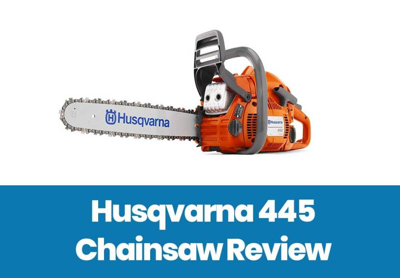 husqvarna 445 review