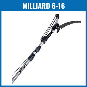 Milliard 6-16 Foot Extendable Tree Pruner Pole Saw