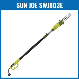Sun Joe SWJ803E Electric Multi-Angle Pole Chain Saw