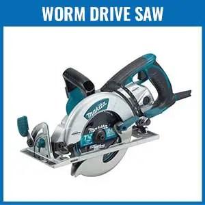 Worm Drive Saw