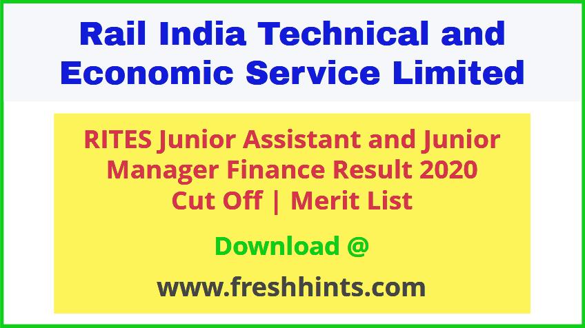 RITES Ltd JA JM Results 2020