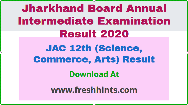 JAC 12th (Science, Commerce, Arts) Result