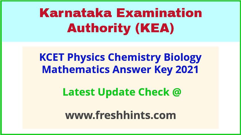kcet-physics-KCET Physics Chemistry Biology Mathematics Key Answer 2021-biology-mathematics-key-answer-2021