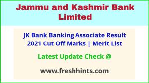 J&K Bank Clerk Selection List 2021