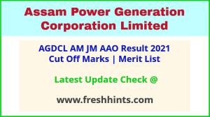 APGCL AM JM AAO Selection List 2021