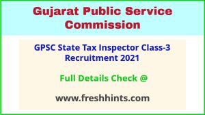 Gujarat State Tax Inspector Bharti 2021
