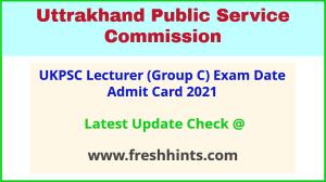 Uttarakhand Pravakta Admit Card 2021 Download