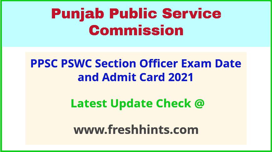 pswc-punjab-so-exam-hall-ticket-2021