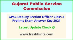 Gujarat Nayab Mamlatdar Class 3 Answer Sheet 2021