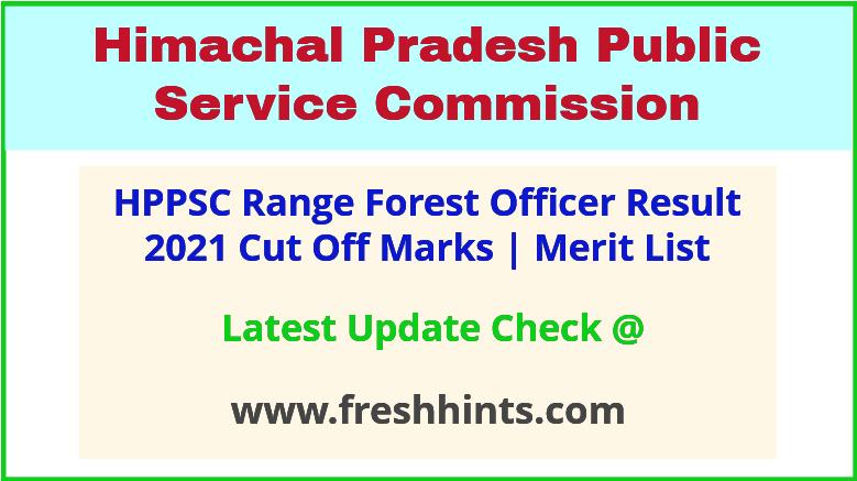 HP Range Forest Officer Selection List 2021