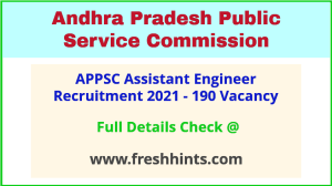 AP Assistant Engineer Notification 2021