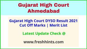 Gujarat HC Deputy Section Officer Selection List 2021