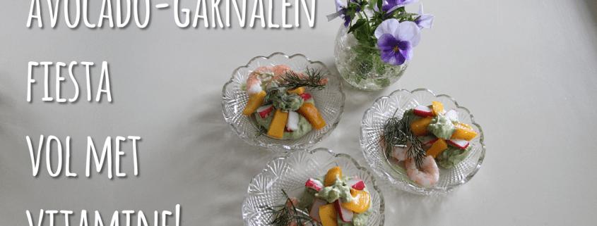 Garnalen-avocado fiësta
