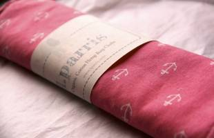 Organic Burp Cloths from L. Parris